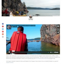 Paddle Lake Superior with the Voyageur Canoe Musical Tour