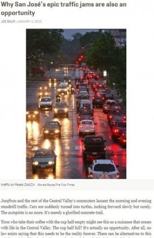 Why San José's epic traffic jams are also an opportunity