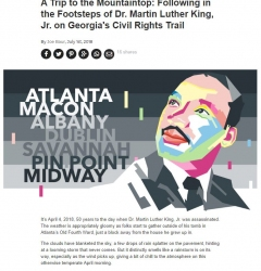 A Trip to the Mountaintop: Following in the Footsteps of Dr. Martin Luther King, Jr. on Georgia's Civil Rights Trail