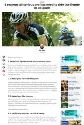 8 reasons all serious cyclists need to ride the Ronde in Belgium Matador Network Joe Baur