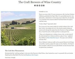 The Craft Brewers Of Wine Country Joe Baur